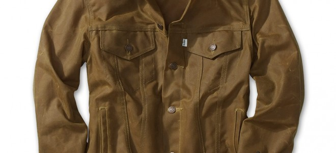 Filson + Levi's Oil Finish Trucker Jacket