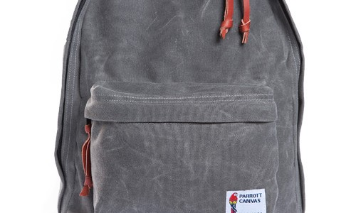PARROTT CANVAS BACKPACK FOR THE WOODLANDS SUPPLY CO.