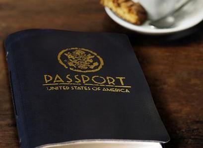Satchel & Page – Passport Travel Journal (USA)