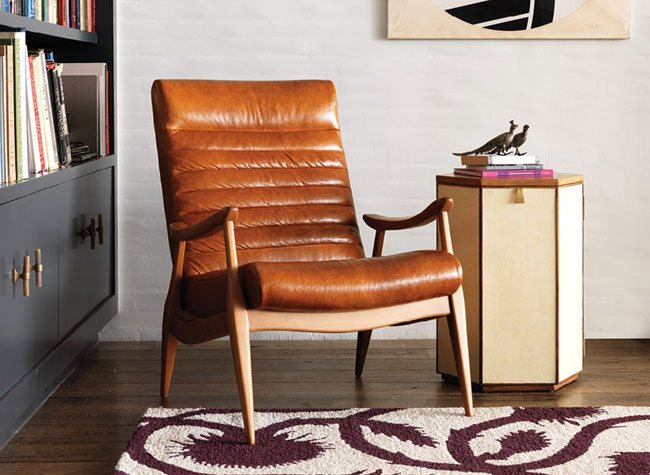 The Hans Leather Chair U2013 Lounge Comfortably