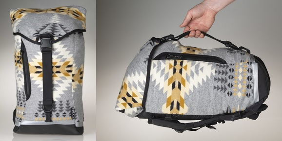 Truce Designs – Drop Liner Pack Made from Pendleton® Wool