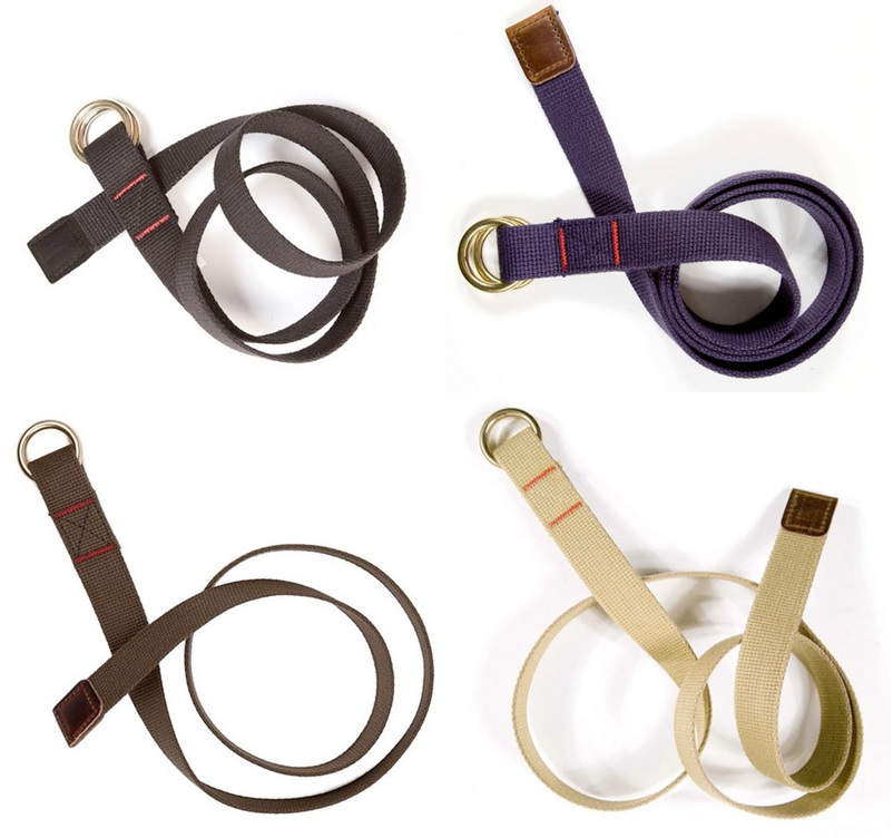Archival Clothing Web Belt