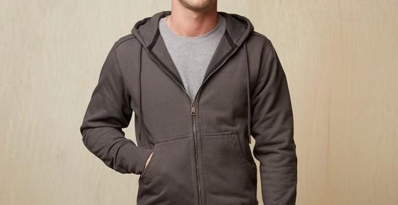 American Giant Heavyweight Full Zip Hooded Sweatshirt