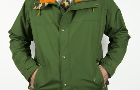 The Freeman x Ball and Buck Premium Rain Jacket