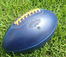 Blue Horween Leather Head™ Football
