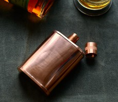 The Vermonter Flask from Jacob Bromwell