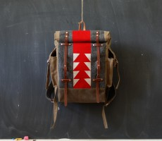 Sketchbook Crafts Patchwork Backpack