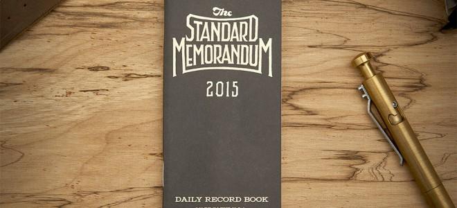 Word 2015 Standard Memorandum Notebook